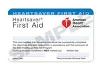 www.allcarecpr.com - Heartsaver First Aid